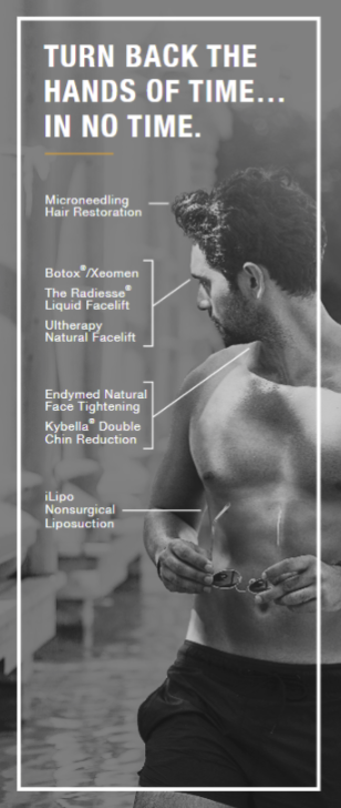 Male Nonsurgical Aesthetic Treatments in Jupiter and Port St Lucie, FL
